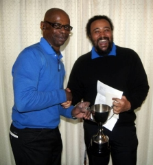 Frank McCook (right) - 2016 Winner of the Fix-Up Trophy