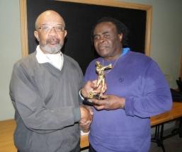 Winner - Charlie McCook (right)
