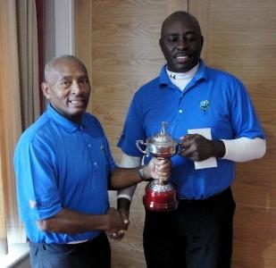 Winner - Elford Douglas (right)