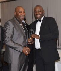 2014 Order of Merit Champion - Trevor Lammy (left)