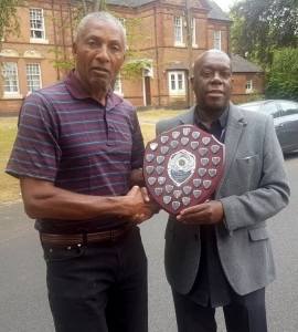 Winner - Jacko Powell (right)