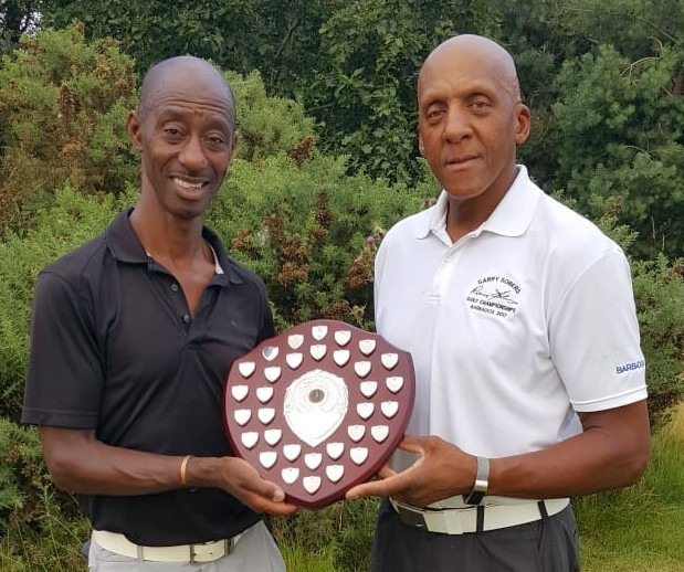 Winner - Eddie Wedderburn (left)